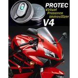 V4 Protec Security. Alarma De Presencia Para Motocicleta