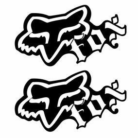 Sticker - Calcomania - Vinil - Logo Fox Cholo