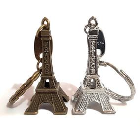 60 Chaveiro Torre Eiffel França Paris Metal Decoração Festa