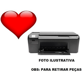 Impressora Hp Photosmart C4680 Usada ( Para Retirar Peças )