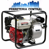 Motobomba Honda Wb 30naftera Ohv 4t 3 5,5hp 1100lt/m 28mts