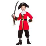 Pirata Capitán (3-4) - Traje De Disfraz De Lo | Juguetes