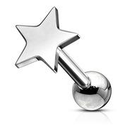 Piercing Individual Estrella 6mm Sin Strass Únicos  Piercing Argentina ®