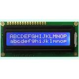 Display Lcd 16x2 1602 Com Back Azul Pic Atmel Arduino