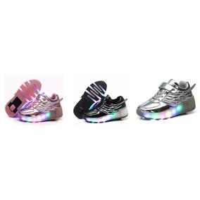 Gran Oferta Led Roller Shoes Zapatilla Con Rueda Retráctil