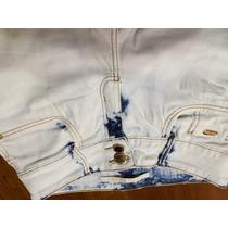 Calça Jeans Lança Perfume Flare 40 Dourada