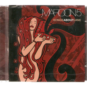 Cd Maroon 5 - Songs About Jane - Novo***