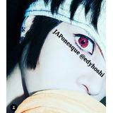 Pronta Entrega Sharingan Lentes Cosplay Naruto Circle Lens