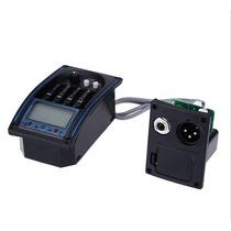 Pré Amplificador Para Violão Bgp-34 C/ Afinador Equalizador