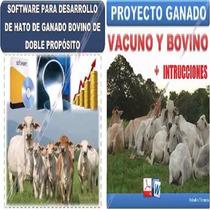 Proyecto + Sistema Ganaderia Ganado Vacuno Produccion Leche