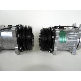 Compressor De Ar 7h15 8 Orelhas 12/24v Polias 1a 2a 8pk