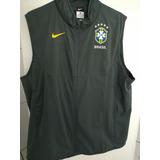 Casaco Jaqueta Colete Parka Nike Seleção Brasileira Cbf