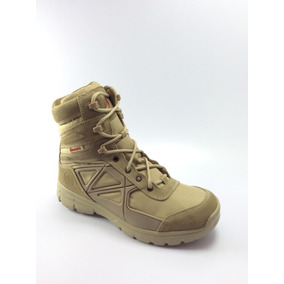 Bota Militar Tactica Airsoft Caseria Cruz Roja Color Arena