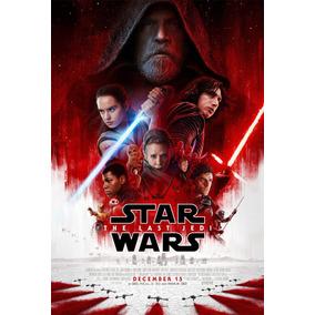 Star Wars Last Jedi Posters Afiches 50x60 Vinilo Poster