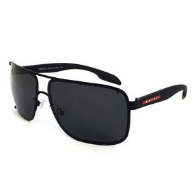 Óculos De Sol Masculino Mascara Pr53o Polarizado Degrade
