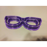Cortador Oculos Glace Real Pasta Americana Biscoito Mini 3cm e911e5d584