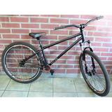 Bicicleta Bmx Salto Street 26 Maza Disco Caja Mid Suspension