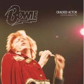 Cd Duplo David Bowie - Cracked Actor - Live Los Angeles 74