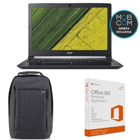 Notebook Acer Amd + Mochila Acer + Office 365 Personal