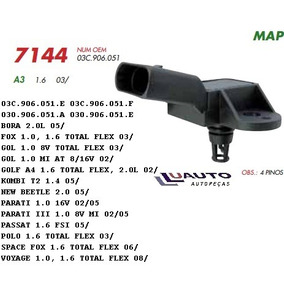 Sensor Map Flex Vw Gol Golf Fox Polo 02/ Audi 1.6