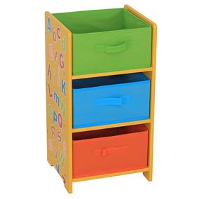 Mueble Infantil 3 Cajones Hds Cajonera Letras Good And Good