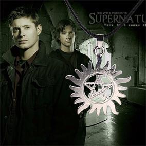 Supernatural - Collar Dean Pentagrama El Sol Y La Estrella