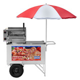 Carrinho Ambulante Pizza, Mini Pizza + Pizza Cone Cpcl-018