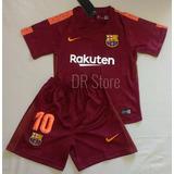 Kit Infantil Barcelona 2018 Messi 10 -promoção
