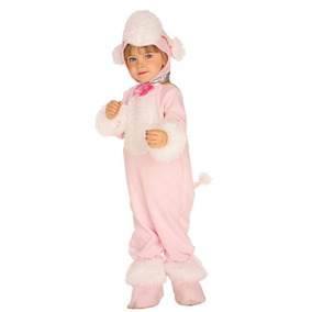 Rubíes Pink Poodle Chicas Halloween Traje Recién Nacido 0-9