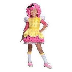 Disfraz Muñeca Vestido Lalaloopsy Niñas Carnavalito