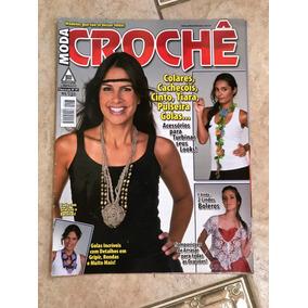 Revista Moda Crochê 97 Colares Cachecóis Cinto Tiara Golas