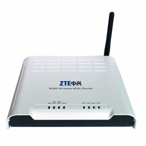 Modem Roteador Wifi Zte W300 Adsl2 Vivo Fixa Oi Velox Novo