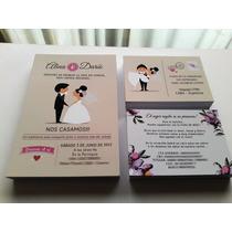 Invitaciones Boda Casamiento 3 Tarjetas