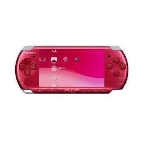 Psp Sony Portatil Psp 2006 Vermelho Novo Recondicionado