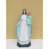 Imagem Nossa Senhora Da Gloria Escultura 65cm + Brinde
