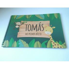 Libro De Firmas Tapa Dura Primer Año, Baby Shower, Etc