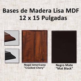 Base De Madera 12 X 15 Pulgadas Para Fotos Y Reconocimientos