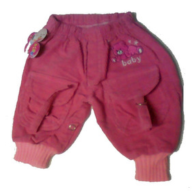 Pantalón Babucha De Pana Para Bebé.talles 0, 00 Y 1.leer