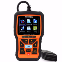 Scanner Diagnóstico Foxwell Nt301 Obd2 Diesel Em Português