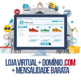 Script Loja Virtual + Instalação + Site .com + Hospedagem