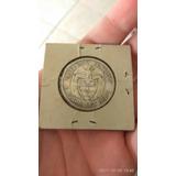 Moneda De 50 Centavos De Plata Ley 0.900 De 1921