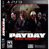 Payday 1 The Heist Ps3 | Digital | Stock Inmediato