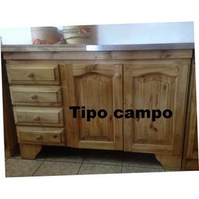 Muebles De Cocina Pino Madera Santa Fe - Muebles de Cocina en ...