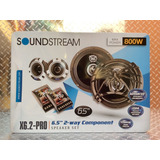 Set De Medios Soundstream X6.2 Pro 750w