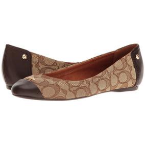 Coach Zapatos Flats Nuevos Originales Chelsea Mocacines