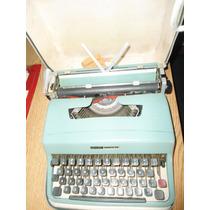 Maquina De Escribir Olibettilettera 32 Impecable+cintaregalo