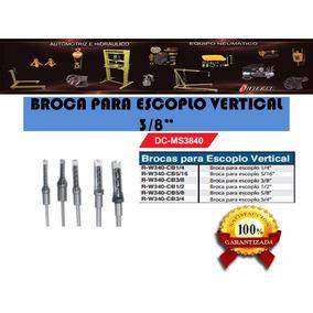 Broca Para Escoplo Vertical 3/8 Dc-ms3840 Silverline