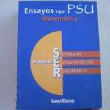 Ensayos Tipo Psu , Matematica, Proyecto Ser Alejandro Ruz, S
