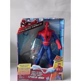 Figura Electrónica Spider Man Triple Ataque Hasbro Original