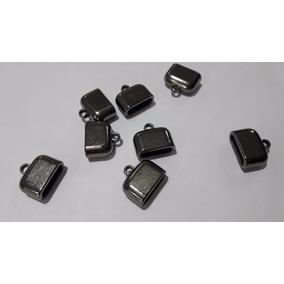 Acabamento Tipo Caneca Onix Bijuetrias 18mm - Kit 50 Peças
